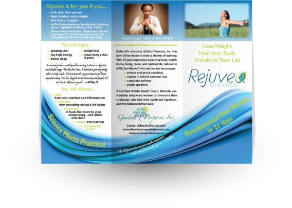 personalized Rejuveo brochure